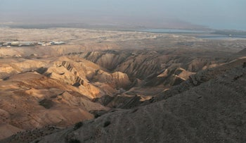 A view shows Jordan Valley near the West Bank city of Jericho January 21, 2016.
