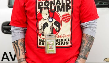 A Donald Trump supporter.