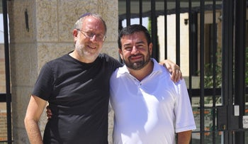 Yossi Klein Halevi, left, and Abdullah Antepli are co-directors of the Muslim Leadership Initiative.