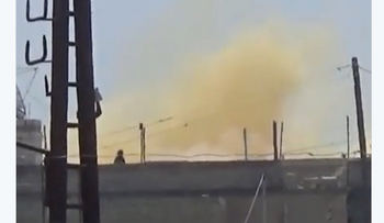 Image of alleged new chemical attack in Syria's Hamas
