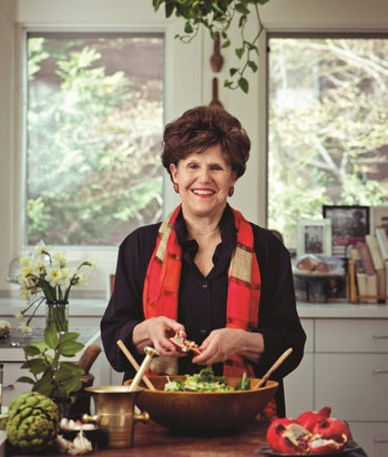 """Joan Nathan. """"Recipes are always changing and Jewish food is always changing."""""""