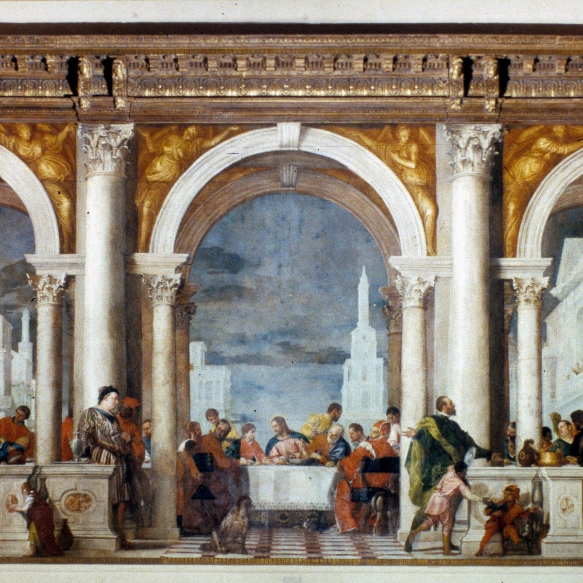 'Feast in the House of Levi,' by Paolo Veronese, 1573.