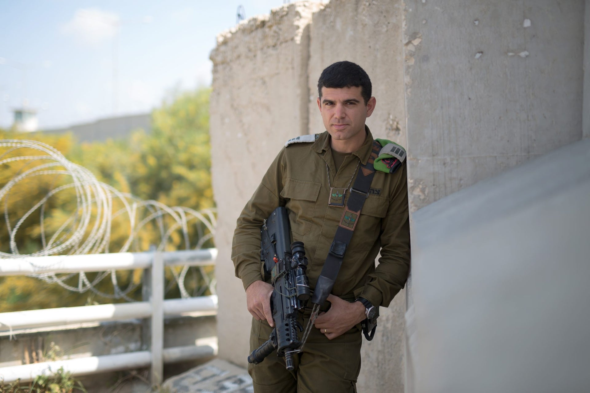 Capt. Nissim Bublil from the Nahal Brigade