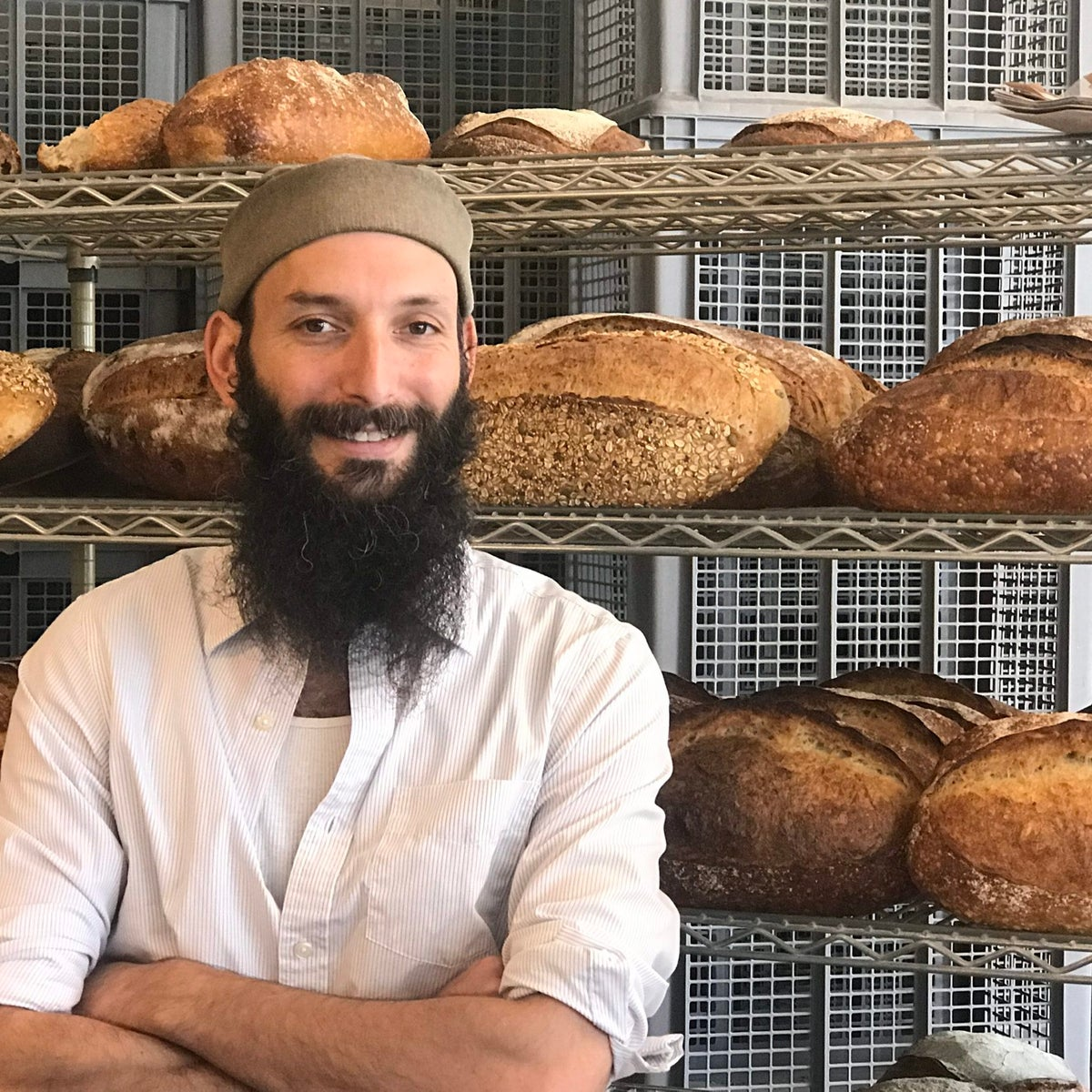 Zak Stern (aka Zak the Baker) at his bakery in Miami.