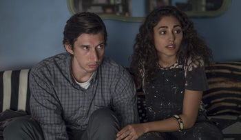 Adam Driver and Golshifteh Farahani in 'Paterson.'