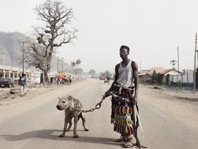 Pieter Hugo, from the series 'The Hyena and Other Men.'