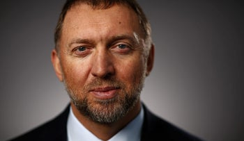 Oleg Deripaska, billionaire and president of United Co. Rusal, poses for a photograph following a Bloomberg Television interview in Davos, Switzerland, on Wednesday, Jan. 20, 2016.