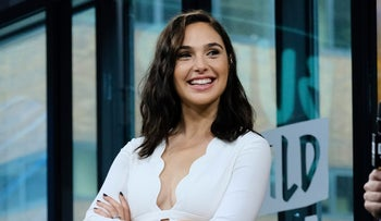 "Gal Gadot in New York to discuss ""Wonder Woman,"" May 23, 2017."