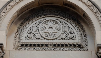 The KAM Isaiah Israel Synagogue in Chicago.
