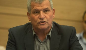 Zionist Union MK Miki Rosenthal, who submitted a private member's bill that calls for a reform in the National Insurance Institute process of determining the severity of disability and applicants' benefits, in the Knesset in April, 2017.