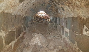 The Crusader escape tunnel in Tiberias