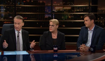 Bill and his guests - Alex Marlow, Ian Bremmer, Malcolm Nance and Eddie Izzard - answer viewer questions after the show.