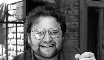 In this May 1986 file photo, actor Stephen Furst poses for a photo in Los Angeles