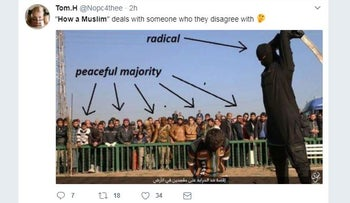 'How a Muslim': Shocking Islamophobic hashtag trending on Twitter today