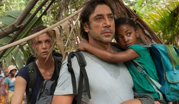 Javier Bardem and Charlize Theron in 'The Last Face.'