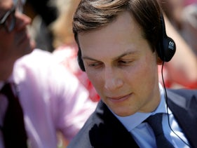 Senior advisor Jared Kushner attends a joint statement from U.S. President Donald Trump and South Korean President Moon Jae-in at the White House in Washington, U.S., June 30, 2017.