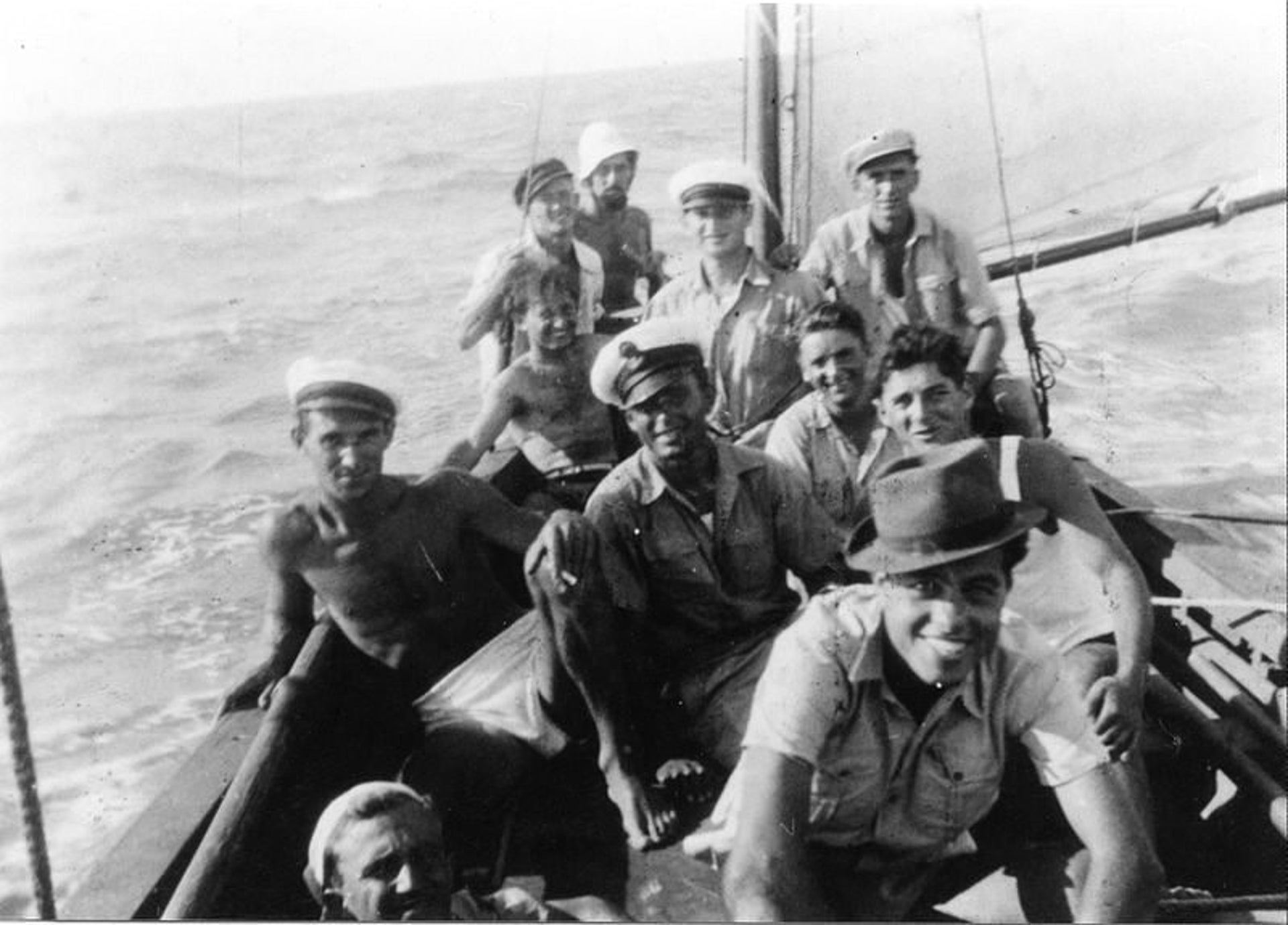 Training of 'Operation Boatswain', in the early 1940's.