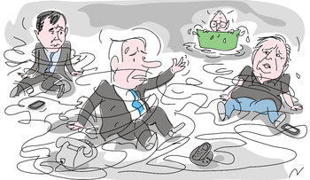 Illustration: Israel's Submarine Scandal: 'Suspicions grow stronger' as Netanyahu lawyer remains in custody
