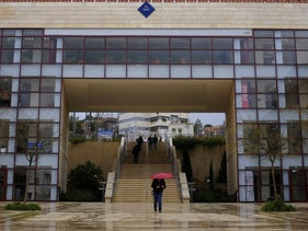 Ariel University, in the West Bank settlement of Ariel.