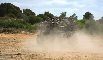 The infantry robotic porter in action. Can carry up to 500 kilograms of equipment and run for eight hours.