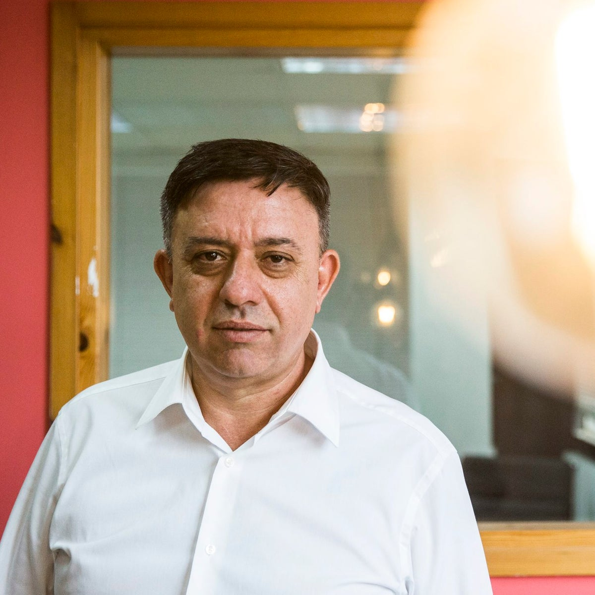 Avi Gabbay poses for a photograph in Tel Aviv, July 6, 2017.