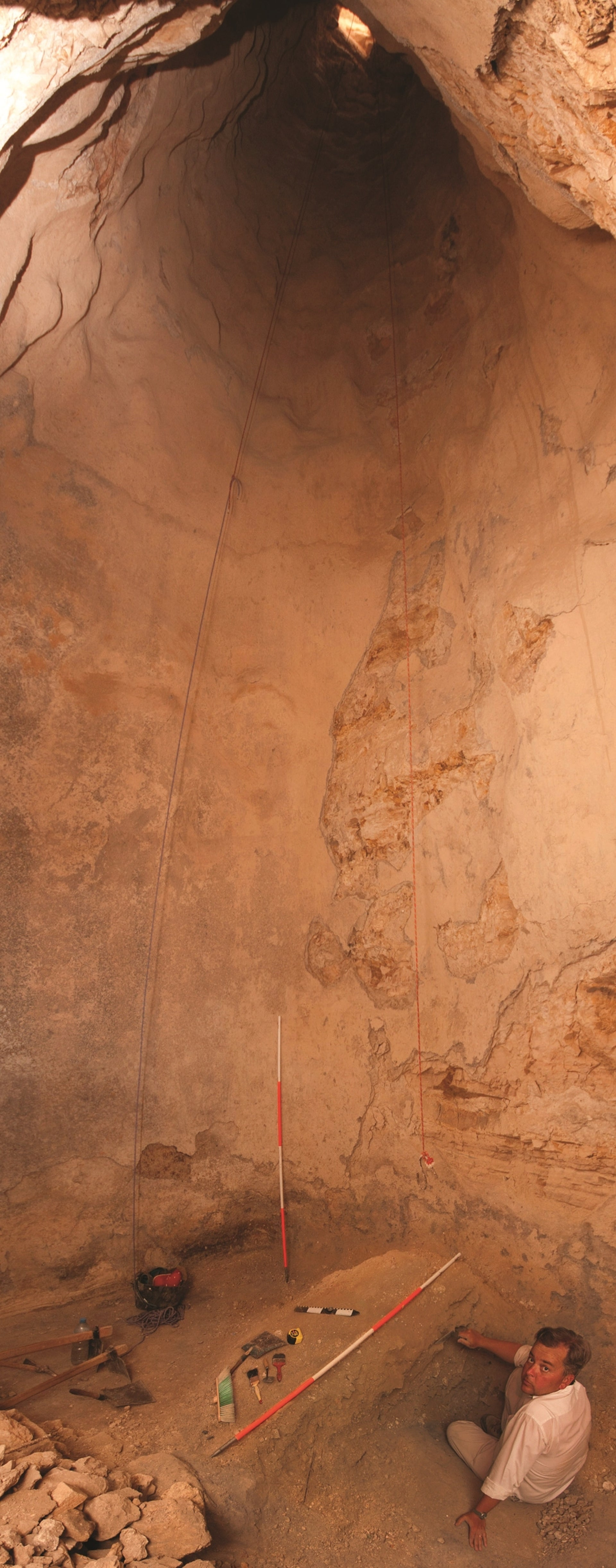 Gigantic cistern discovered at Machaerus, King Herod´s only palace outside modern Israel.