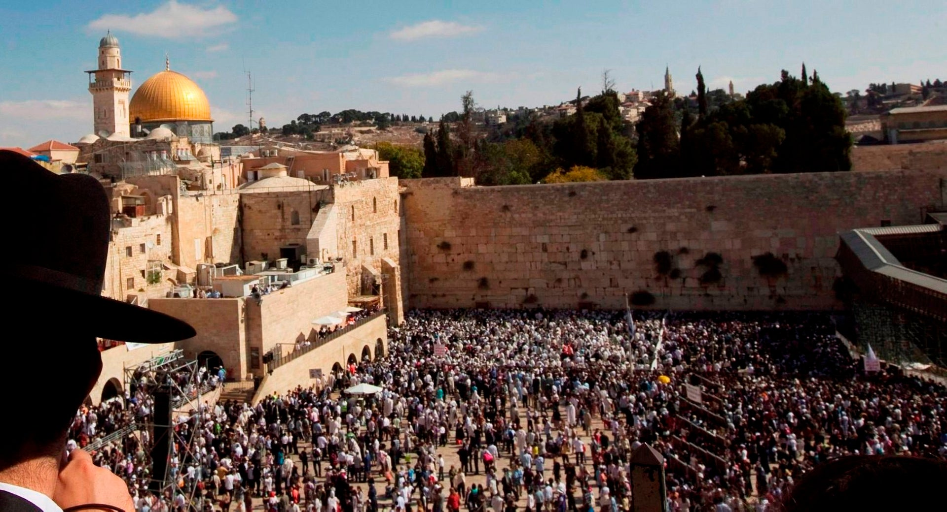 The Western Wall, today