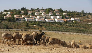 The Jewish settlement of Halamish, west of Ramallah, in the West Bank, June 27, 2017 (illustrative).