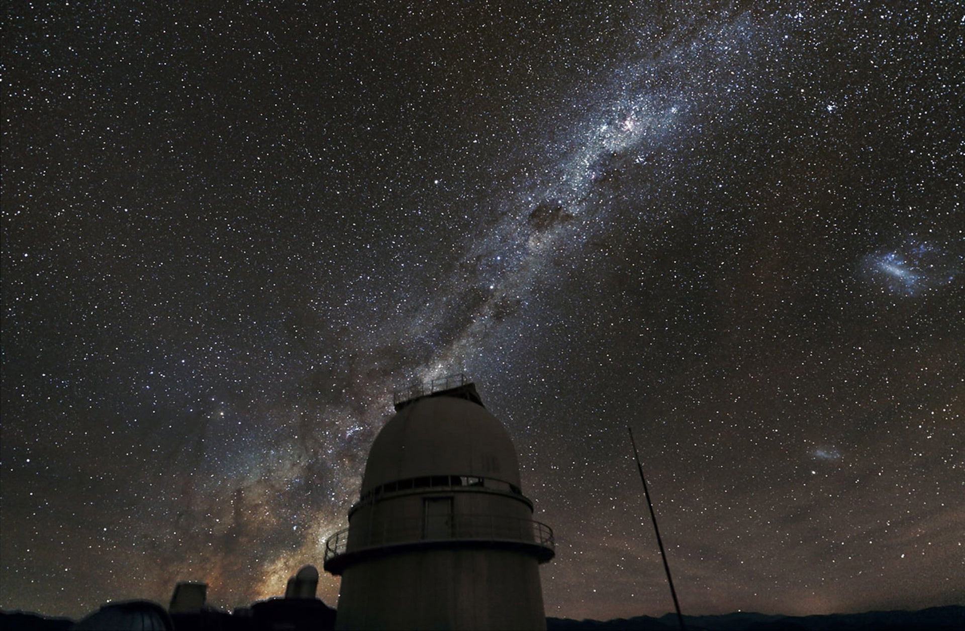 The Observatory in Chile.
