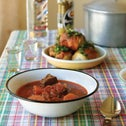 """Borscht. One of the photographs from """"The Russian-Jewish Cookbook."""""""