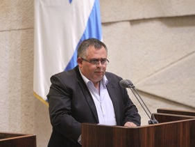 Likud MK David Bitan, May 2015.