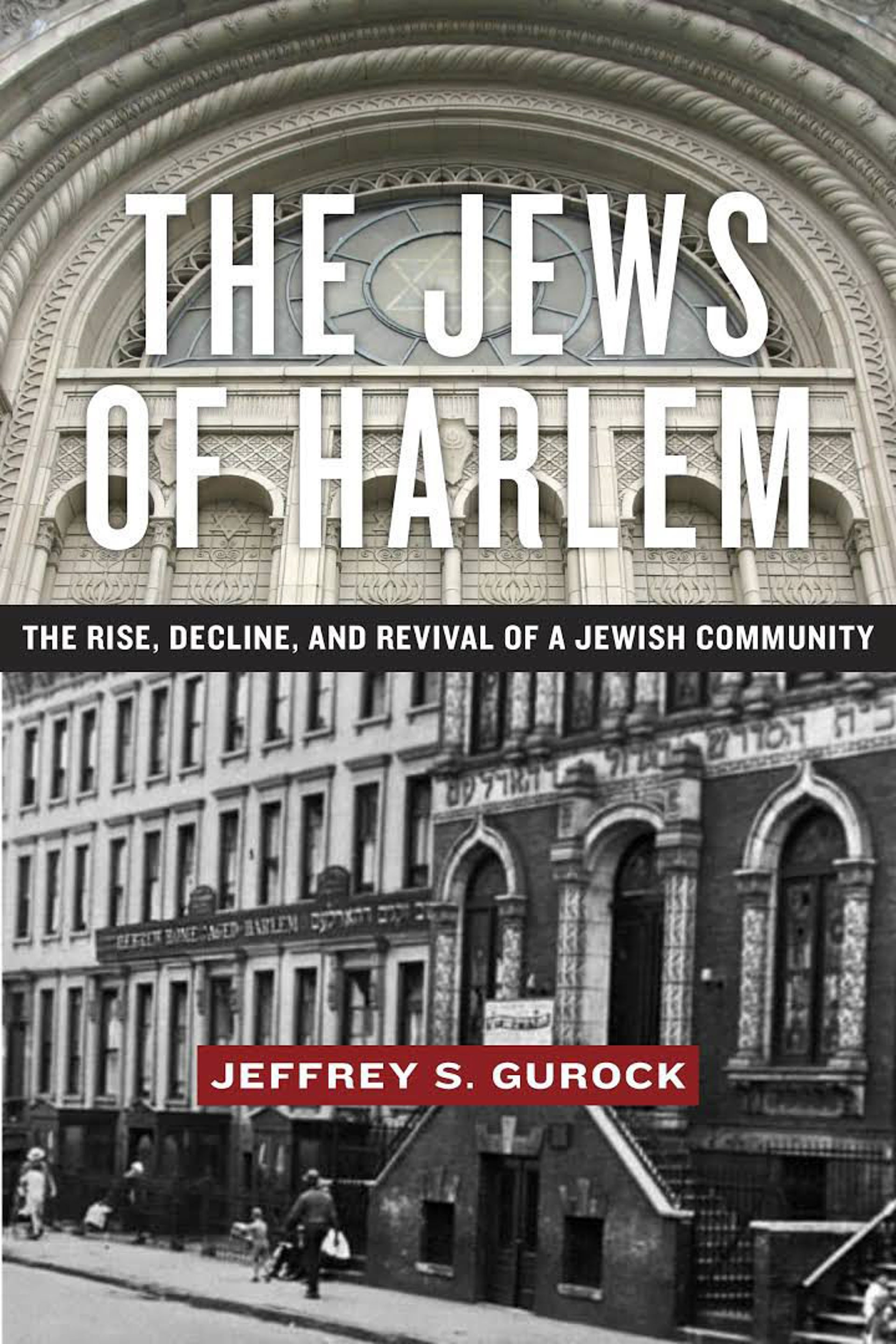 The cover of 'The Jews of Harlem'.