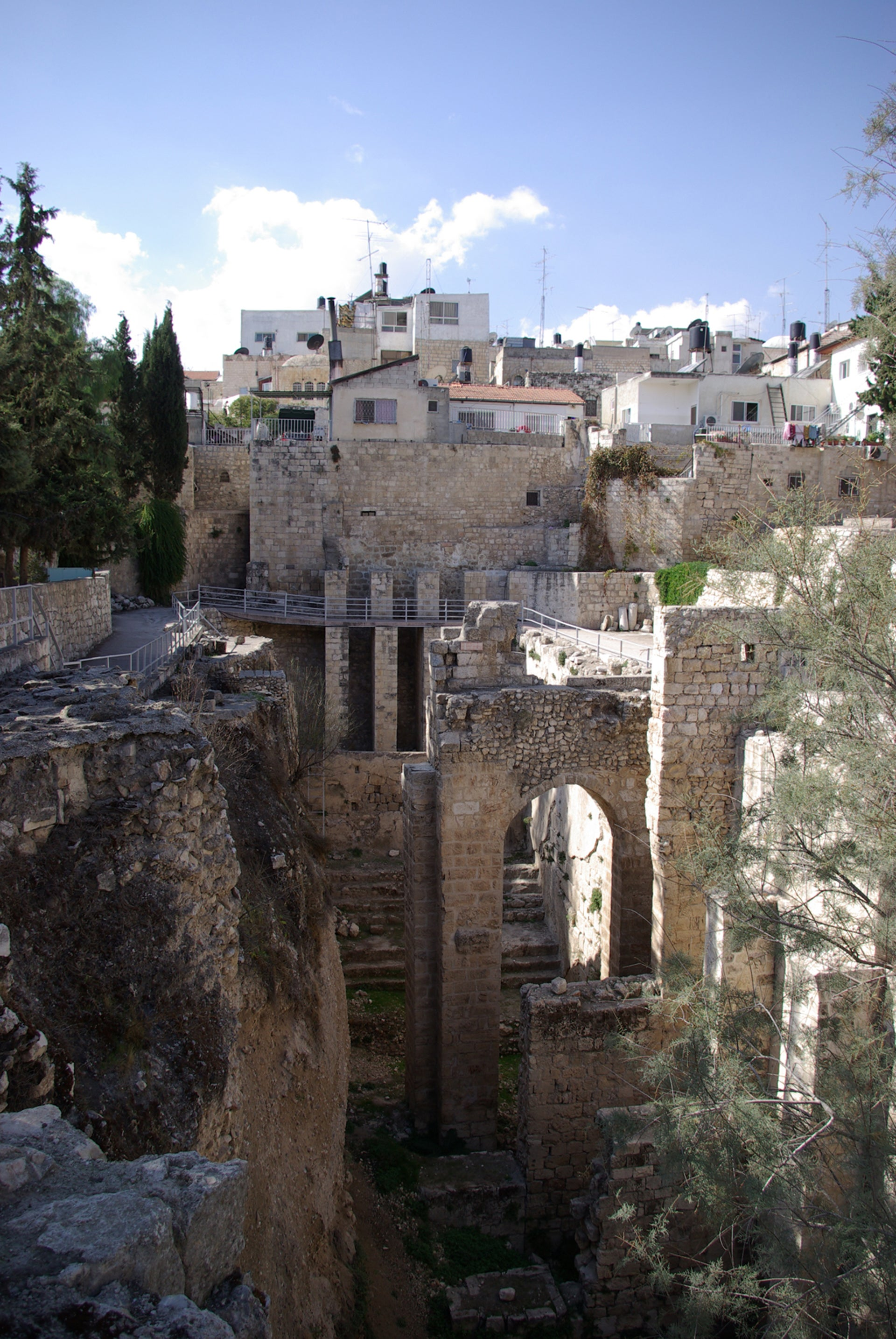 The Pool of Bethesda is definitely the Pool of Bethesda.