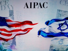 The American Israel Public Affairs Committee (AIPAC) policy conference at the Washington Convention Center in Washington, D.C., March 2, 2015.