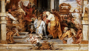 The Sacrifice of the Old Covenant, by Peter Paul Rubens, circa 1626.