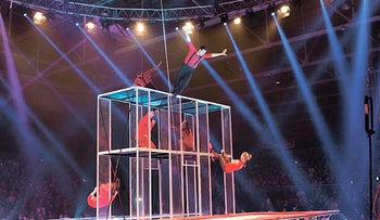 The Florentine Circus presents its new show 'Circus of the World.'