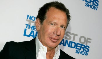"Actor Gary Shandling arrives at the wrap party and DVD release for ""The Larry Sanders Show"", Beverly Hills, California, U.S., April 10, 2007."