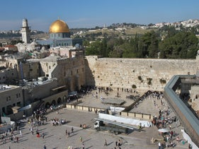 Jerusalem's Temple Mount and Western Wall on May 5, 2015.