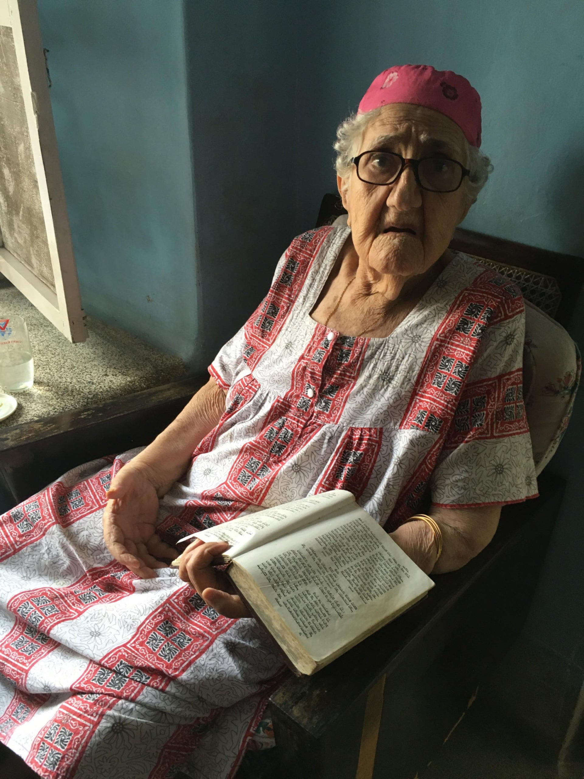 At 93, Sarah Cohen is Cochin's oldest Jew.