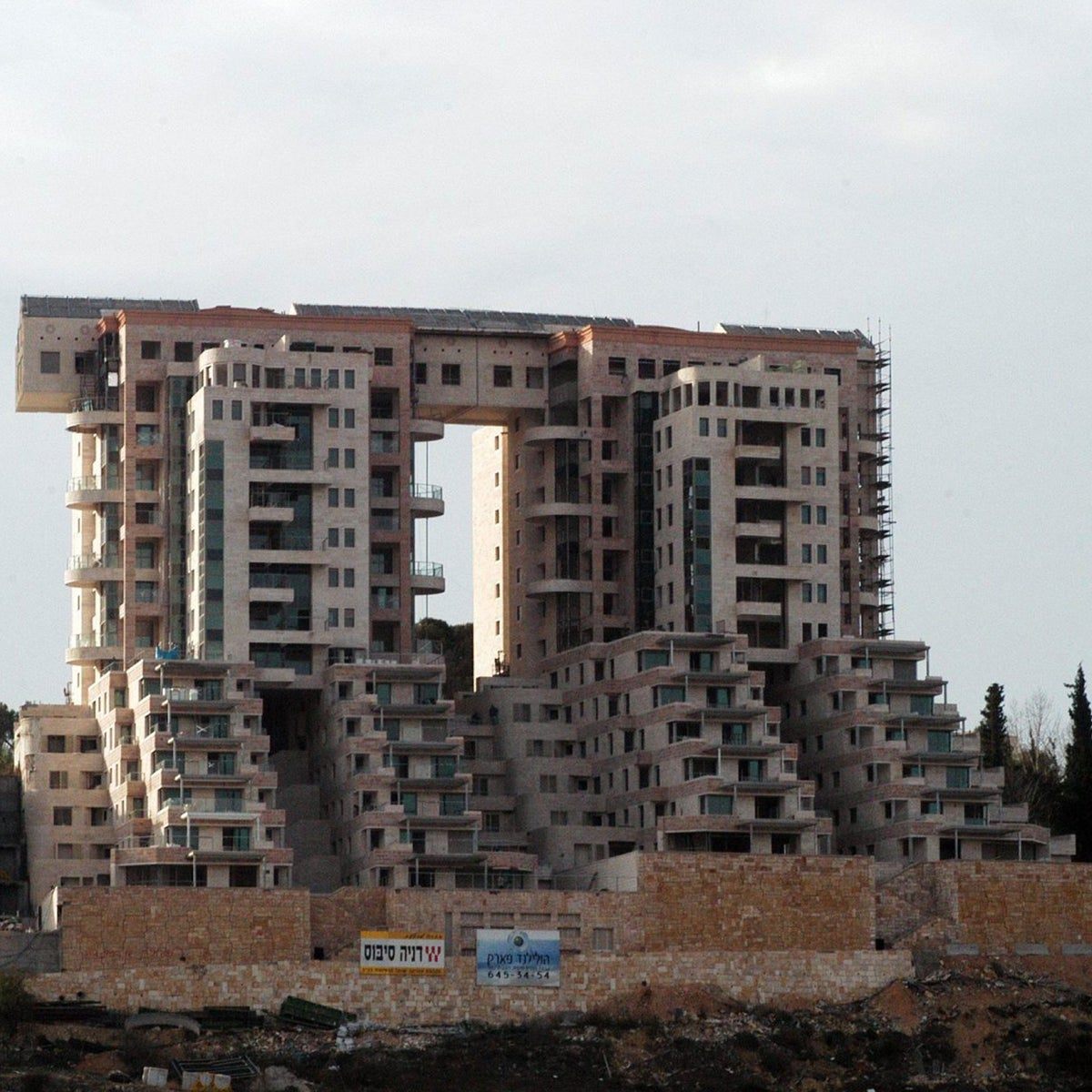 The Holyland complex in Jerusalem. The city's municipal engineer thinks the city's doing just fine without Frank Gehry.
