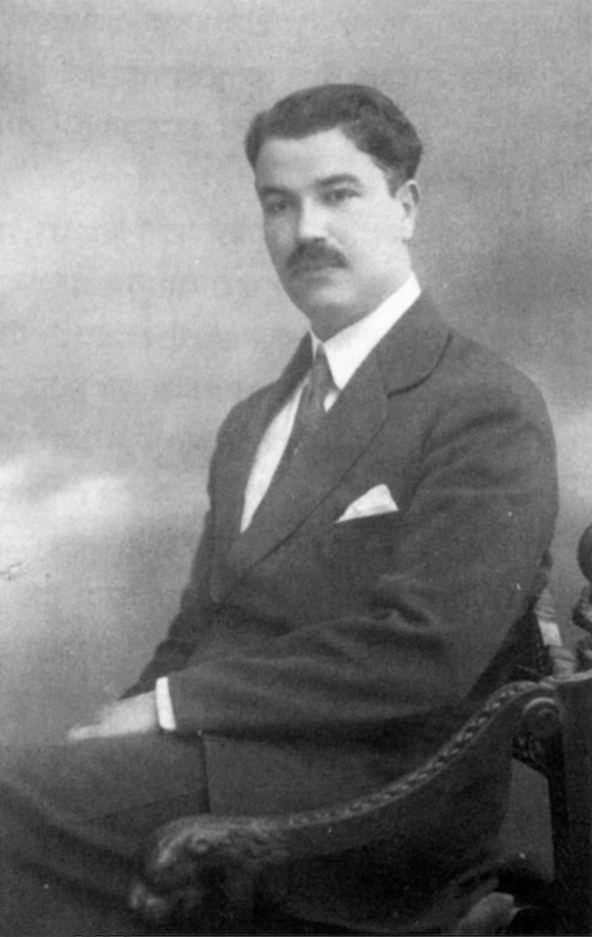 The architect Spyro G. Houris, born in Alexandria.He came to Jerusalem just before World War I.