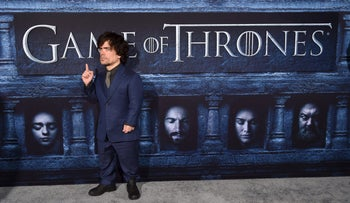 Cast member Peter Dinklage attends the premiere for the sixth season of HBO's Game of Thrones in Los Angeles April 10, 2016.