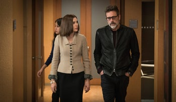A scene from 'The Good Wife.'