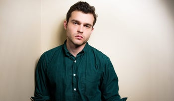 Alden Ehrenreich poses for a portrait in Los Angeles, February 1, 2016.