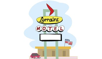An illustration of a motel.