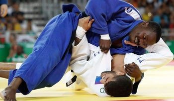 Golan Pollack loses to Zambian opponent at Rio Olympics