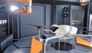 An Airobotics drone designed for the energy industry.