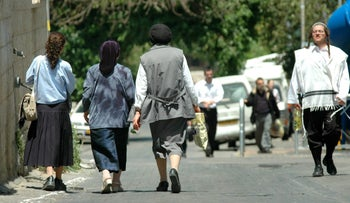 In certain sects of the Hassidic world, it is not considered acceptable for a woman to drive.