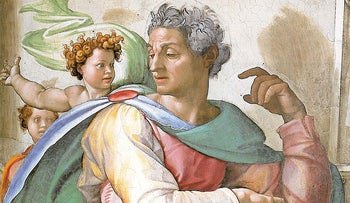 The Prophet Isaiah, by Michelangelo in the Sistine Chapel.