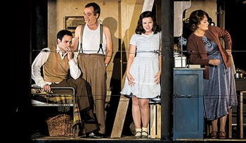 From left: Asaf Peri, Motti Katz, Dana Meinrath and Sara Von Schwarze in 'Anne.'
